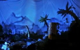 Vadedespertar, escenografía para evento en Cosmo Caixa